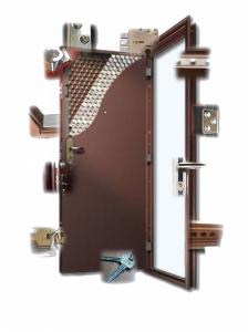 Производство металлических дверей 3