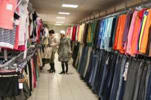 Секонд хенд брендовой одежды дешево, но сердито