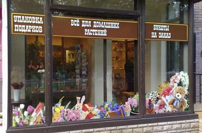 Оформление витрин магазинов примеры