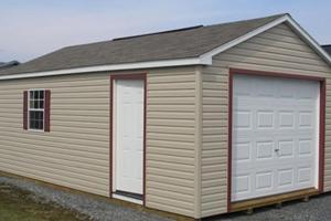 Строительство гаражей из бруса